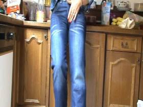 eine nagel neue billig jeans