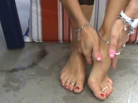 .Fußfetisch! Fußbad,ÖLEN&MASSIEREN,Zzz