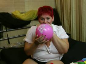 Neue Luftballon Lieferung