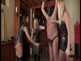 3 Ladies Peitschen Sklaven Teil 2