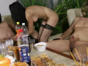 Private GangBang Sperma Party 2012 Teil-1