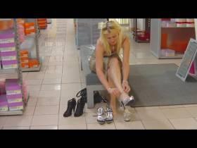 Schuhe Kaufen ohne Höschen