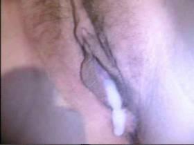 Kitzler und Spermavideo