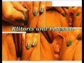 Klitoris und Pissloch