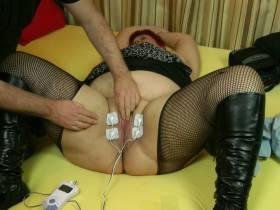 Elektro Massage zwischen meinen Beinen