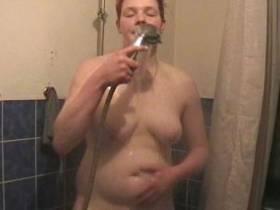 In der Badewanne abgewixt