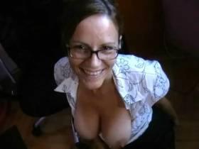 Sekretärin blasen  Pt3