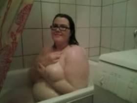 In meiner Badewanne