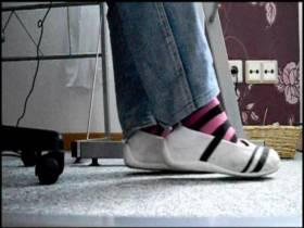 Sexy Strümpfe Shoeplay