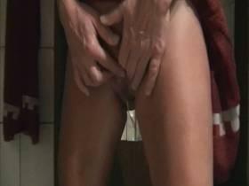 Nach dem Duschen