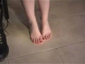 Boots und Füße