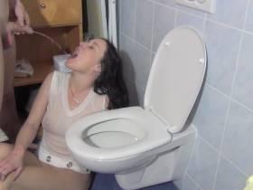 Lass mich deine Toilette sein