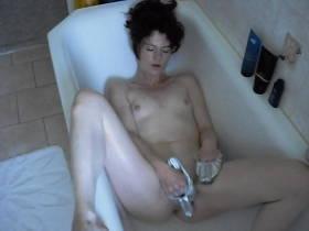 """Ich habe neue Badehand """"Schuhe """" ...!"""