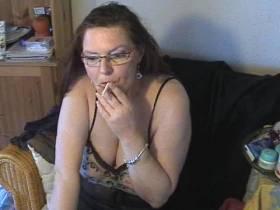 Rauchen und Chatten