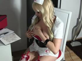 Krankenschwester Analshow HD