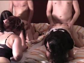 Gruppenorgie im Hotel